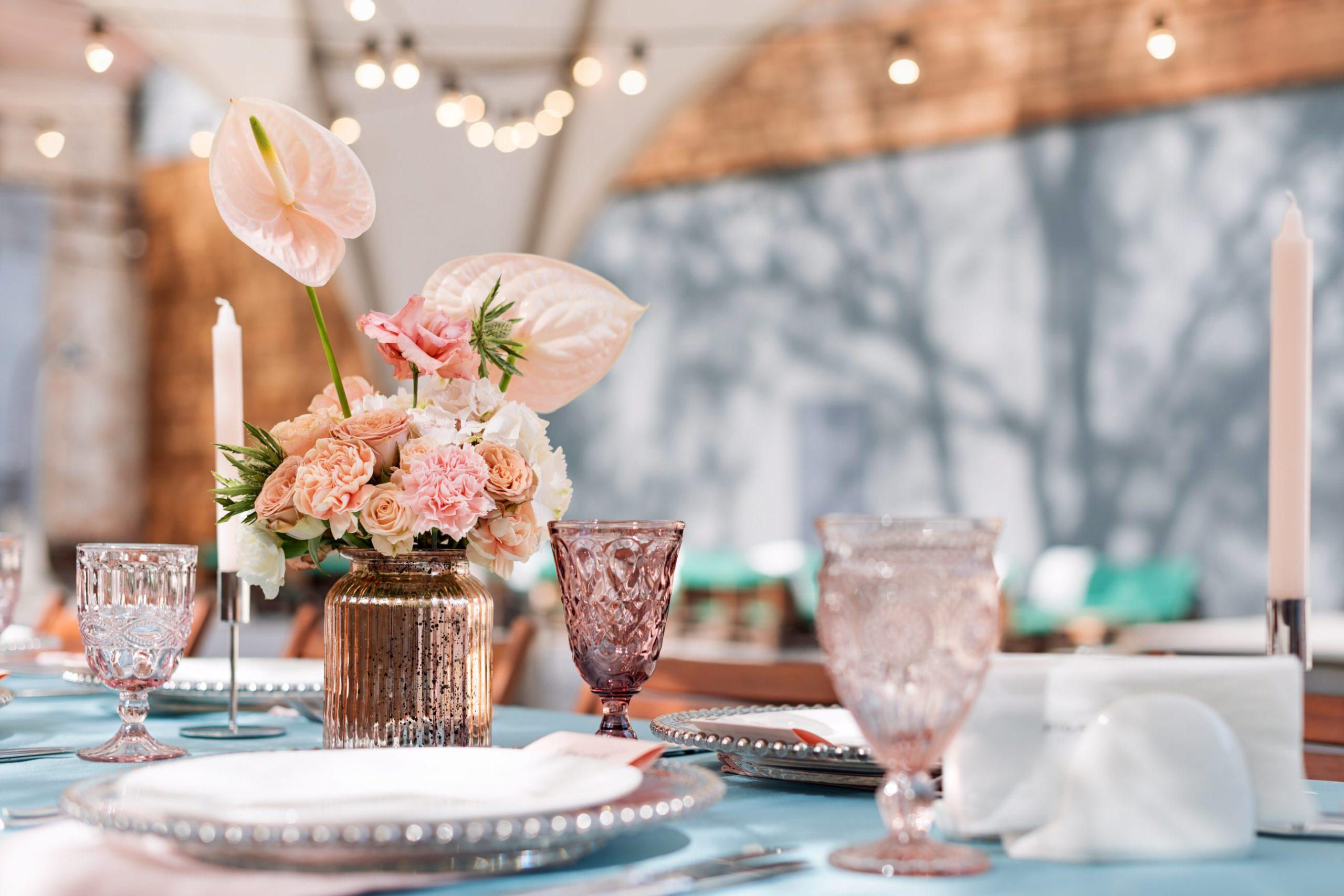 wedding table centerpiece, eventous, weddings, flowers